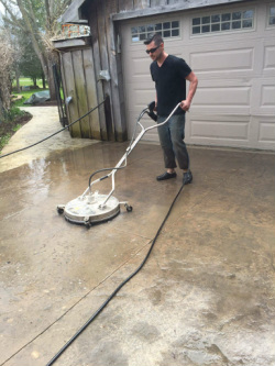 We Use Our Professional 4000 Psi Pressure Washer And Whirl A Way Surface  Cleaning Pressure Washing Attachments To Evenly Clean Your Concrete, Wood  Deck, ...
